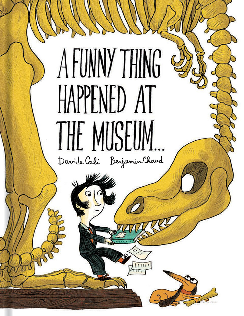 A Funny Thing Happened at the Museum . . . - Jacket
