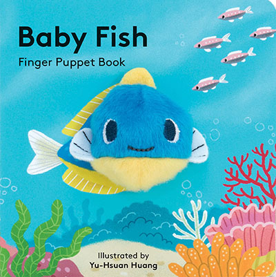 Baby Fish: Finger Puppet Book - Jacket