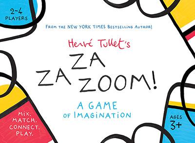 Herve Tullet's ZaZaZoom!: A Game of Imagination - Jacket