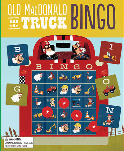 Old MacDonald Had a Truck Bingo - Jacket