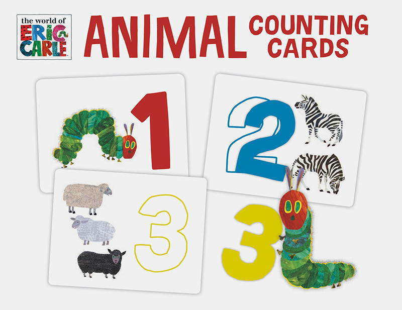 The World of Eric Carle(TM) Animal Counting Cards - Jacket