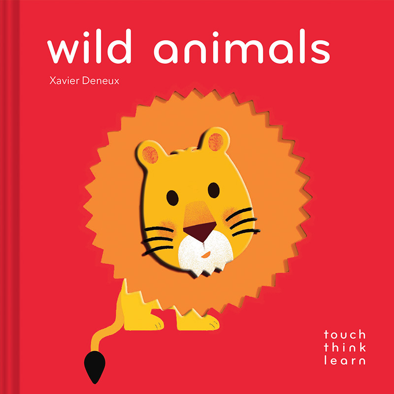 TouchThinkLearn: Wild Animals - Jacket