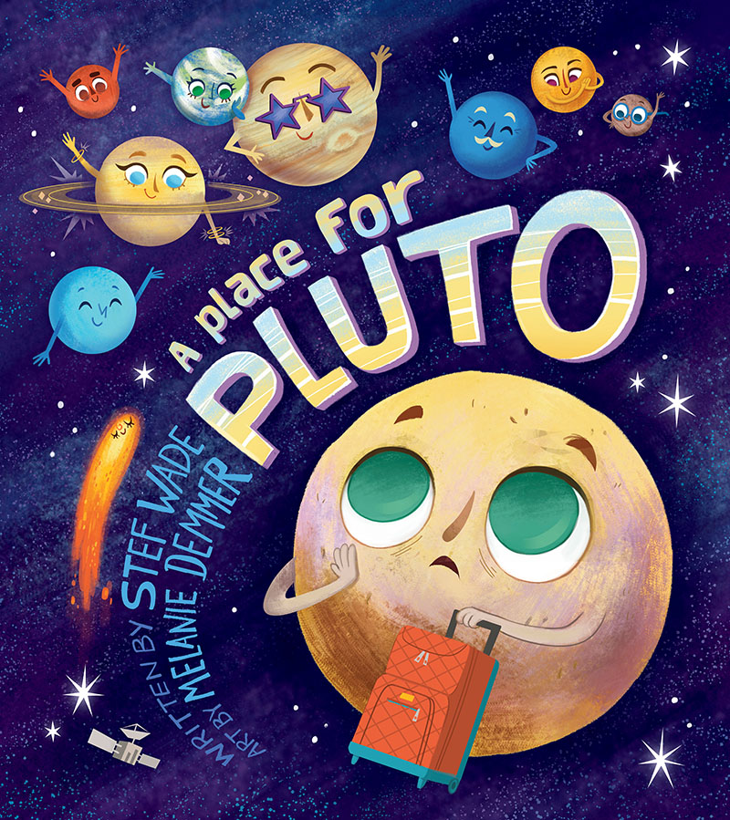 A Place for Pluto - Jacket