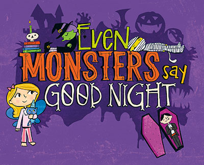 Even Monsters Say Goodnight - Jacket