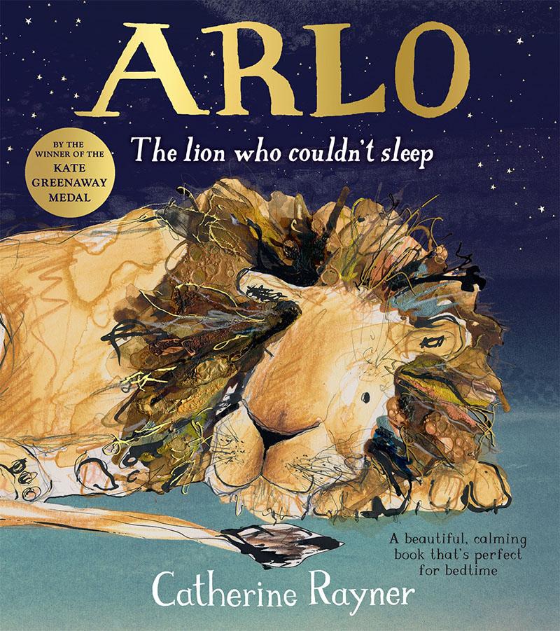 Arlo The Lion Who Couldn't Sleep - Jacket