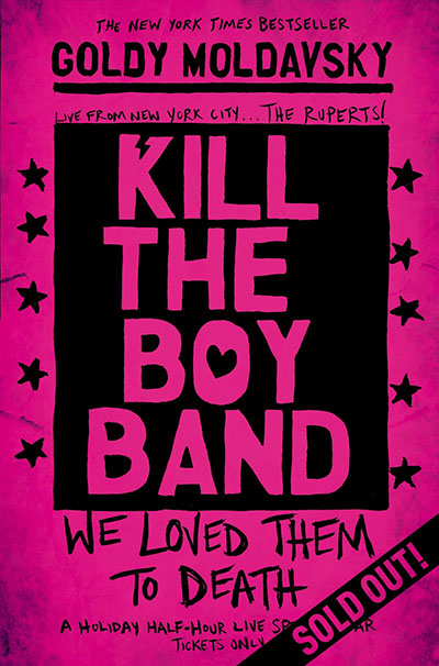 Kill the Boy Band - Jacket