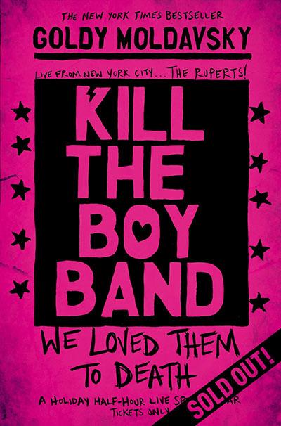 Kill the Boy Band - Jacket