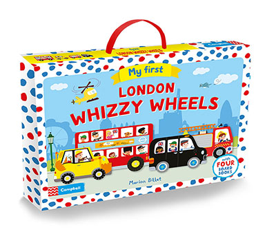 My First London Whizzy Wheels - Jacket