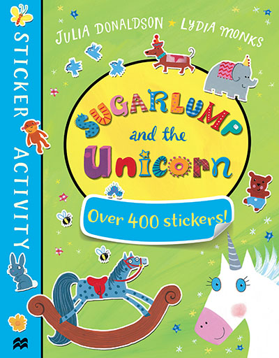 Sugarlump and the Unicorn Sticker Book - Jacket