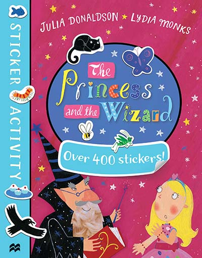 The Princess and the Wizard Sticker Book - Jacket