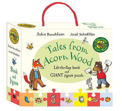 Tales from Acorn Wood Book and Jigsaw Gift Set - Jacket
