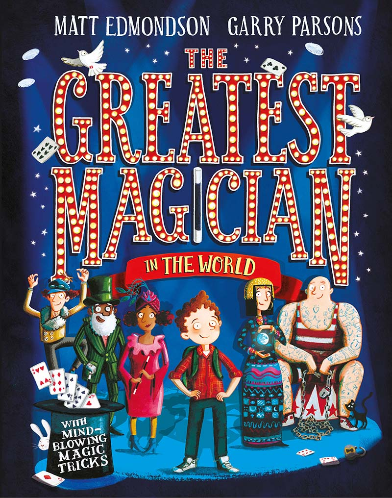The Greatest Magician in the World - Jacket