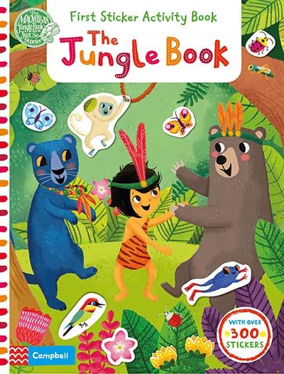 The Jungle Book: First Sticker Activity Book - Jacket