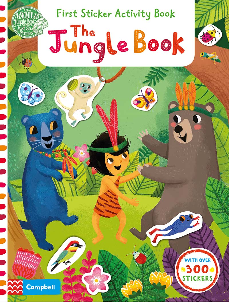 The Jungle Book: First Sticker Activity Book - Jacket