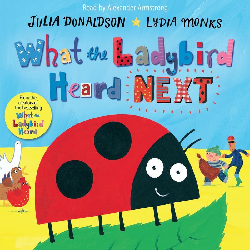 What the Ladybird Heard Next - Jacket