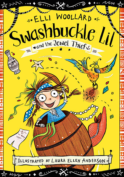 Swashbuckle Lil and the Jewel Thief - Jacket