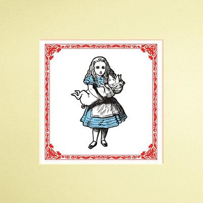 The Macmillan Alice: Alice Print - Jacket