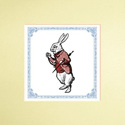 The Macmillan Alice: White Rabbit print - Jacket