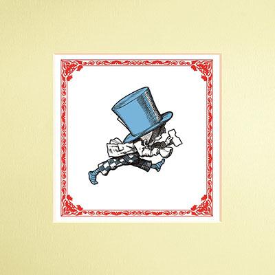 The Macmillan Alice: Mad Hatter Print - Jacket
