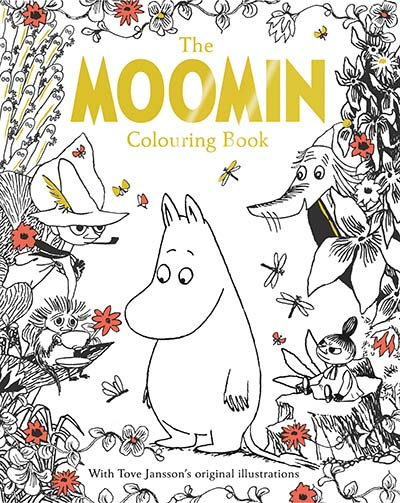 The Moomin Colouring Book - Jacket