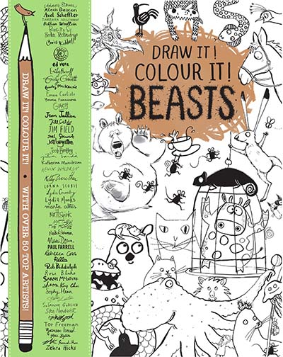 Draw it! Colour it! Beasts - Jacket