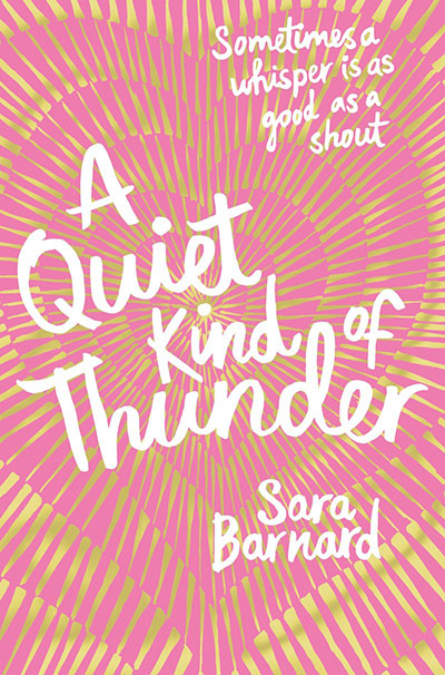 A Quiet Kind of Thunder - Jacket