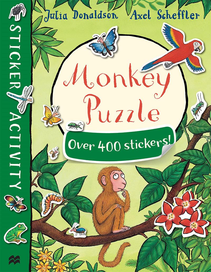 Monkey Puzzle Sticker Book - Jacket