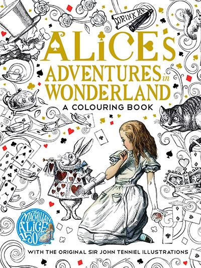The Macmillan Alice Colouring Book - Jacket