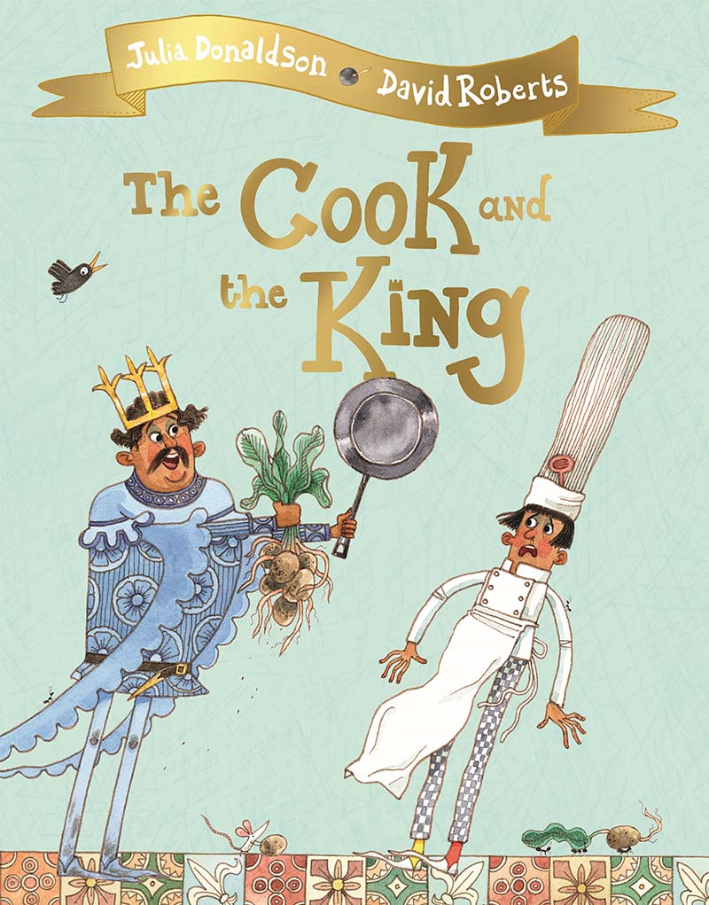 The Cook and the King - Jacket