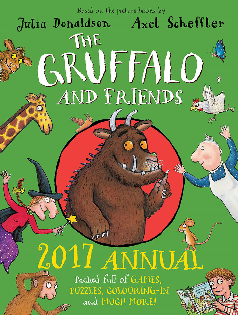 The Gruffalo and Friends Annual 2017 - Jacket