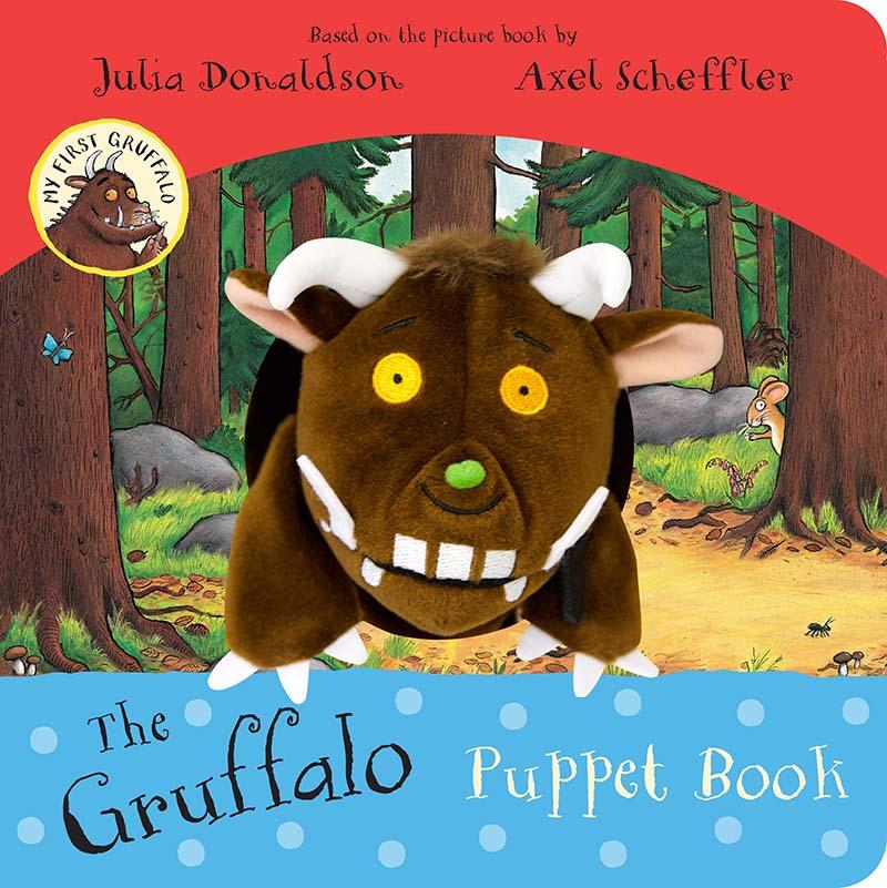 My First Gruffalo: The Gruffalo Puppet Book - Jacket