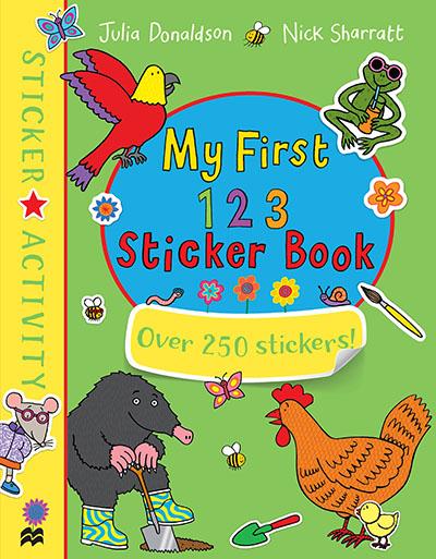 My First 123 Sticker Book - Jacket
