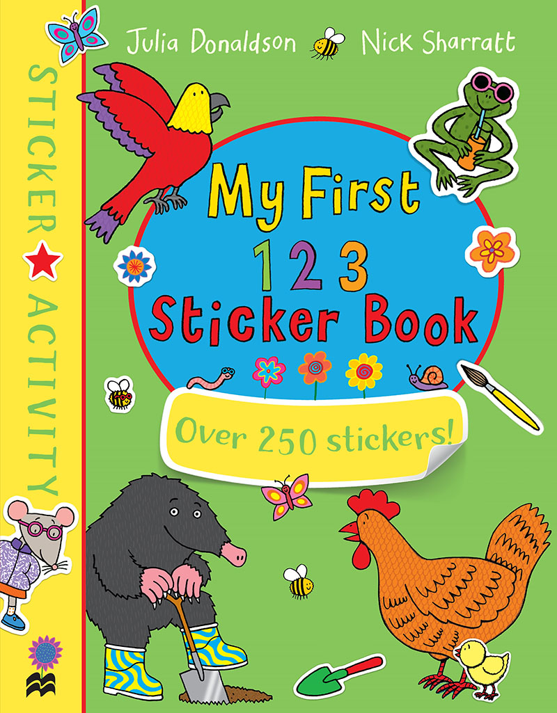 My First 123 Sticker Book - Jacket