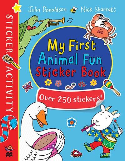 My First Animal Fun Sticker Book - Jacket