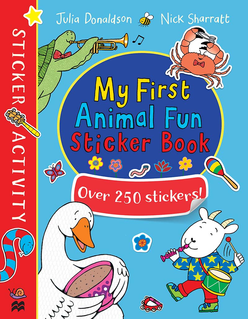 My First Animal Fun Sticker Book - Jacket