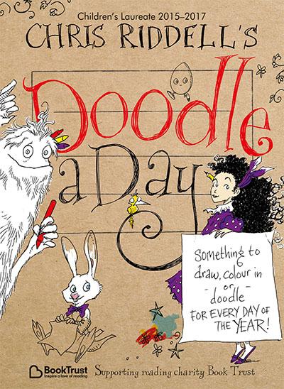Chris Riddell's Doodle-a-Day - Jacket