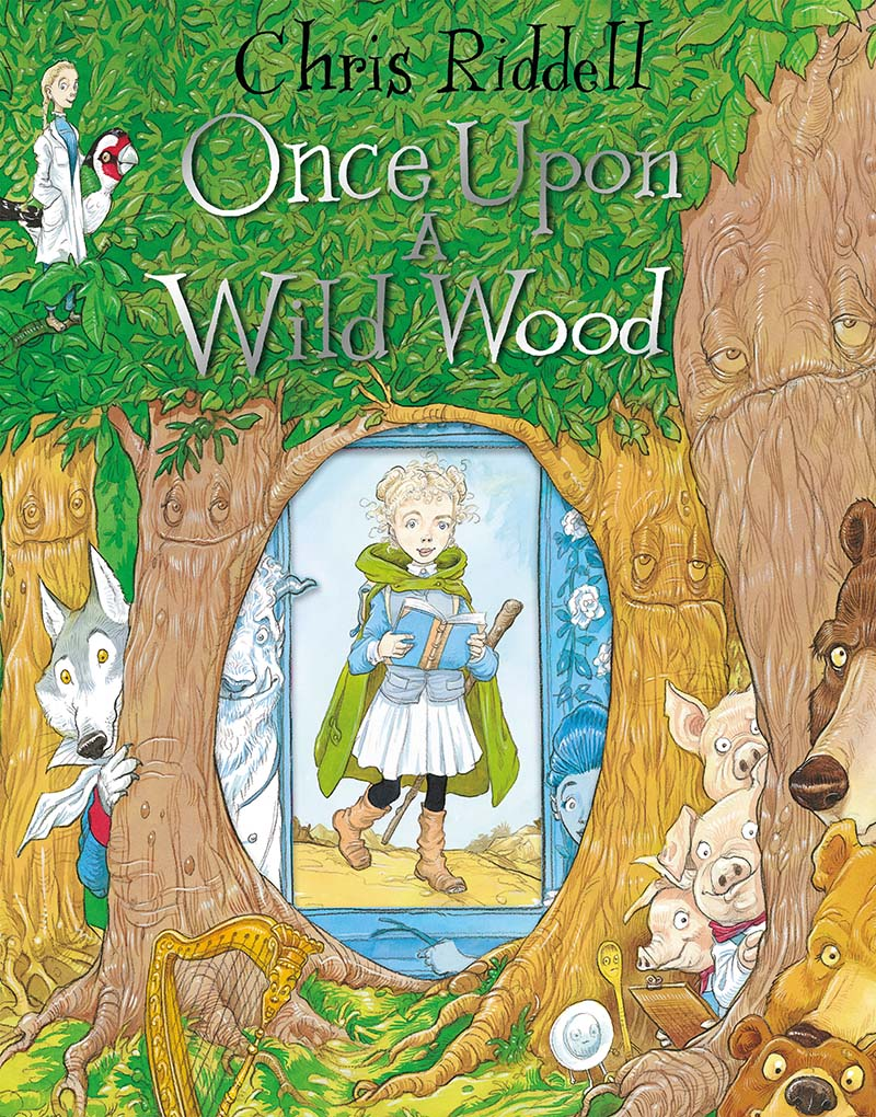 Once Upon a Wild Wood - Jacket