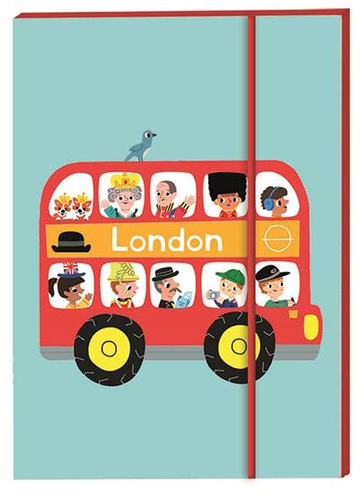 London Notebook A6 - Jacket