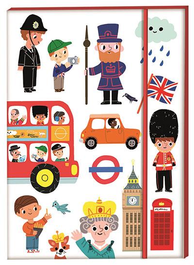 London Notebook A5 - Jacket