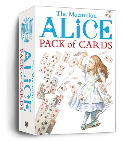 Macmillan Alice Pack of Cards - Jacket