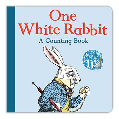 One White Rabbit: A Counting Book - Jacket