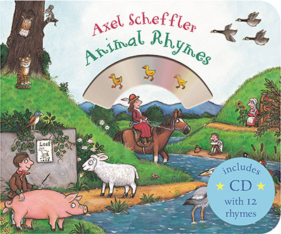 Mother Goose's Animal Rhymes - Jacket
