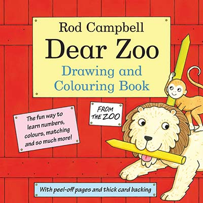 The Dear Zoo Drawing and Colouring Book - Jacket