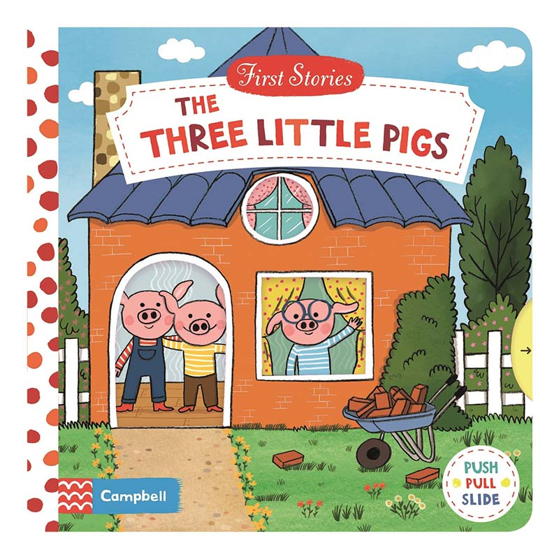 The Three Little Pigs - Jacket