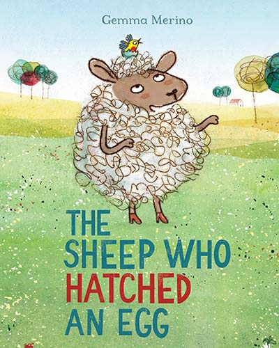 The Sheep Who Hatched an Egg - Jacket