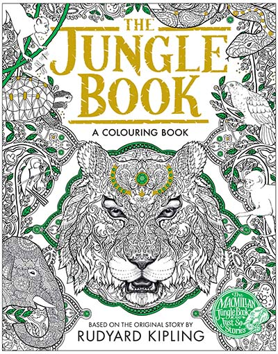The Jungle Book Colouring Book - Jacket