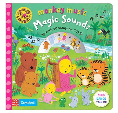 Monkey Music Magic Sounds - Jacket