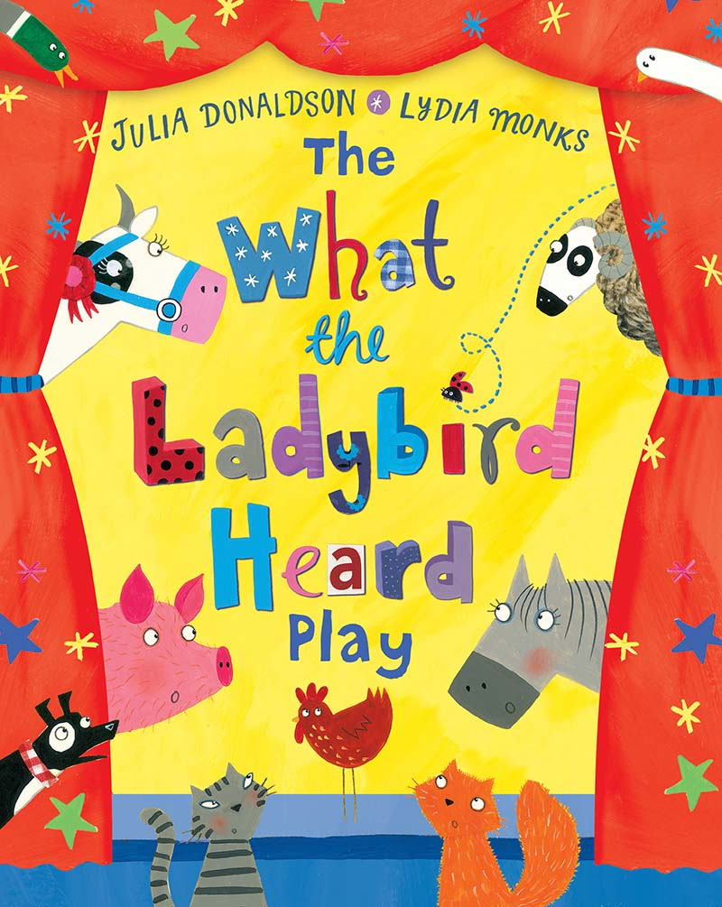 The What the Ladybird Heard Play - Jacket