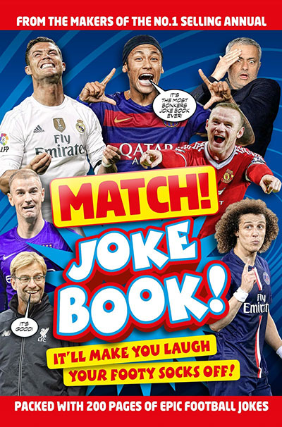 Match! Joke Book - Jacket