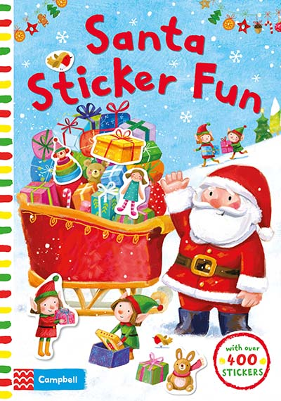 Santa Sticker Fun - Jacket